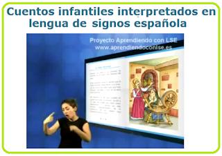 http://aprendelenguadesignos.com/cuentos-interpretados-en-lengua-de-signos-espaola/