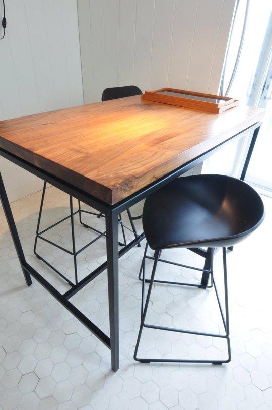 Antes y despu s una cocina de ikea actual elegante y - Mesa cocina alta ...