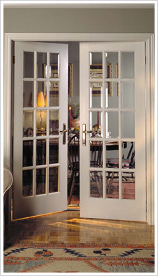 Interior Glass French Doors 540 x 939