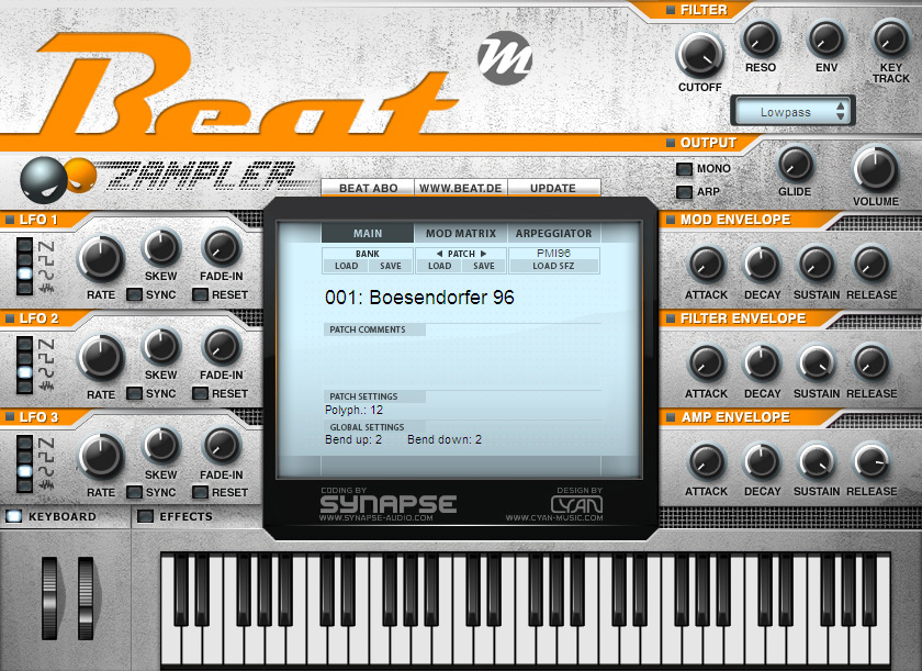 Released few months ago free sfz samples player called zampler