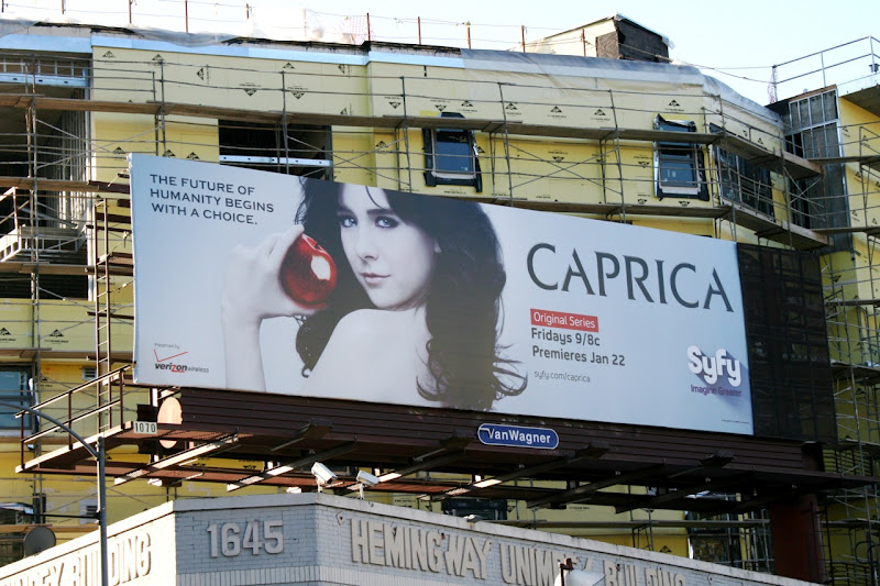 Caprica Syfy billboard
