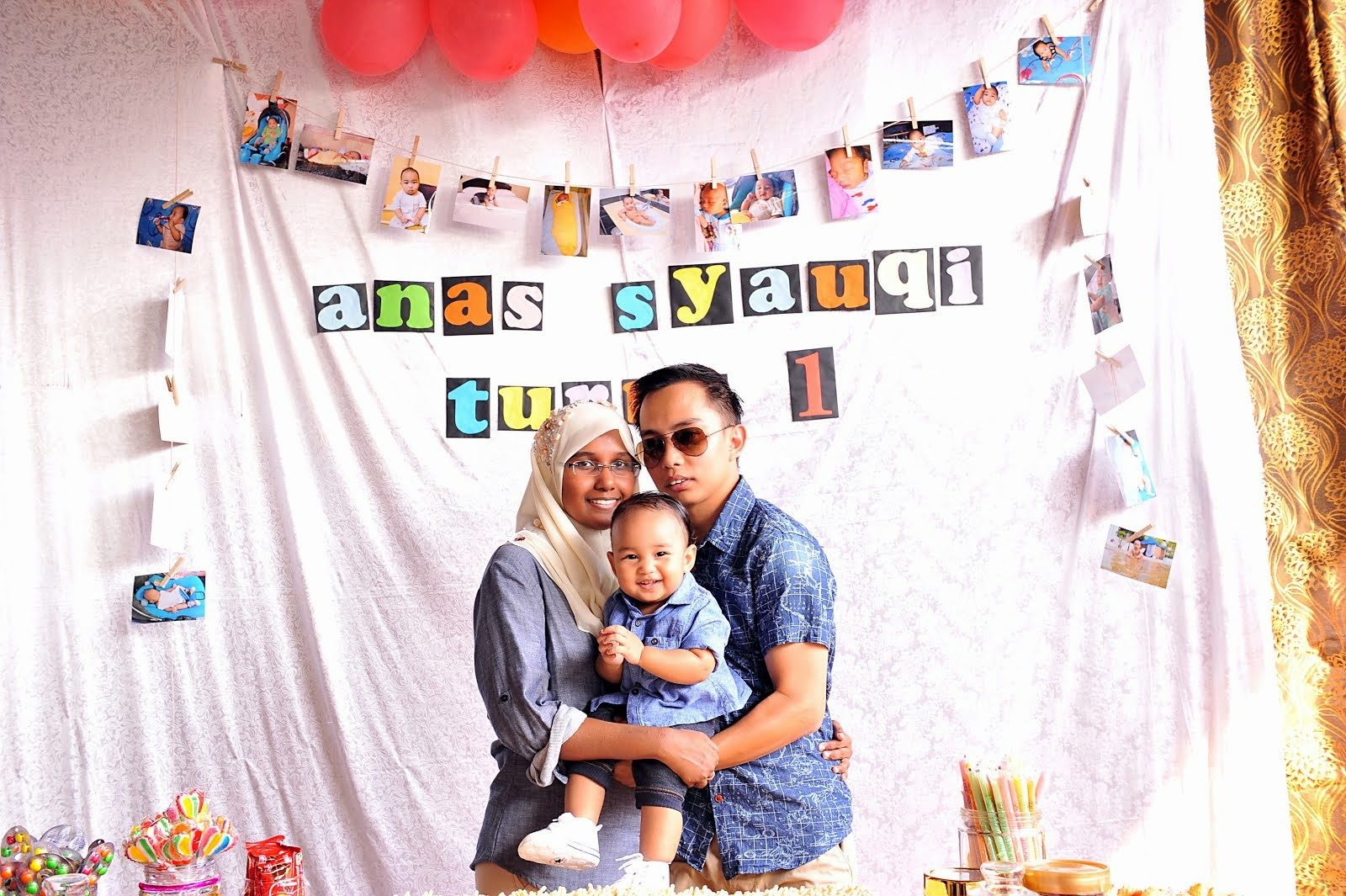 ♥ Birthday Anas Syauqi ♥