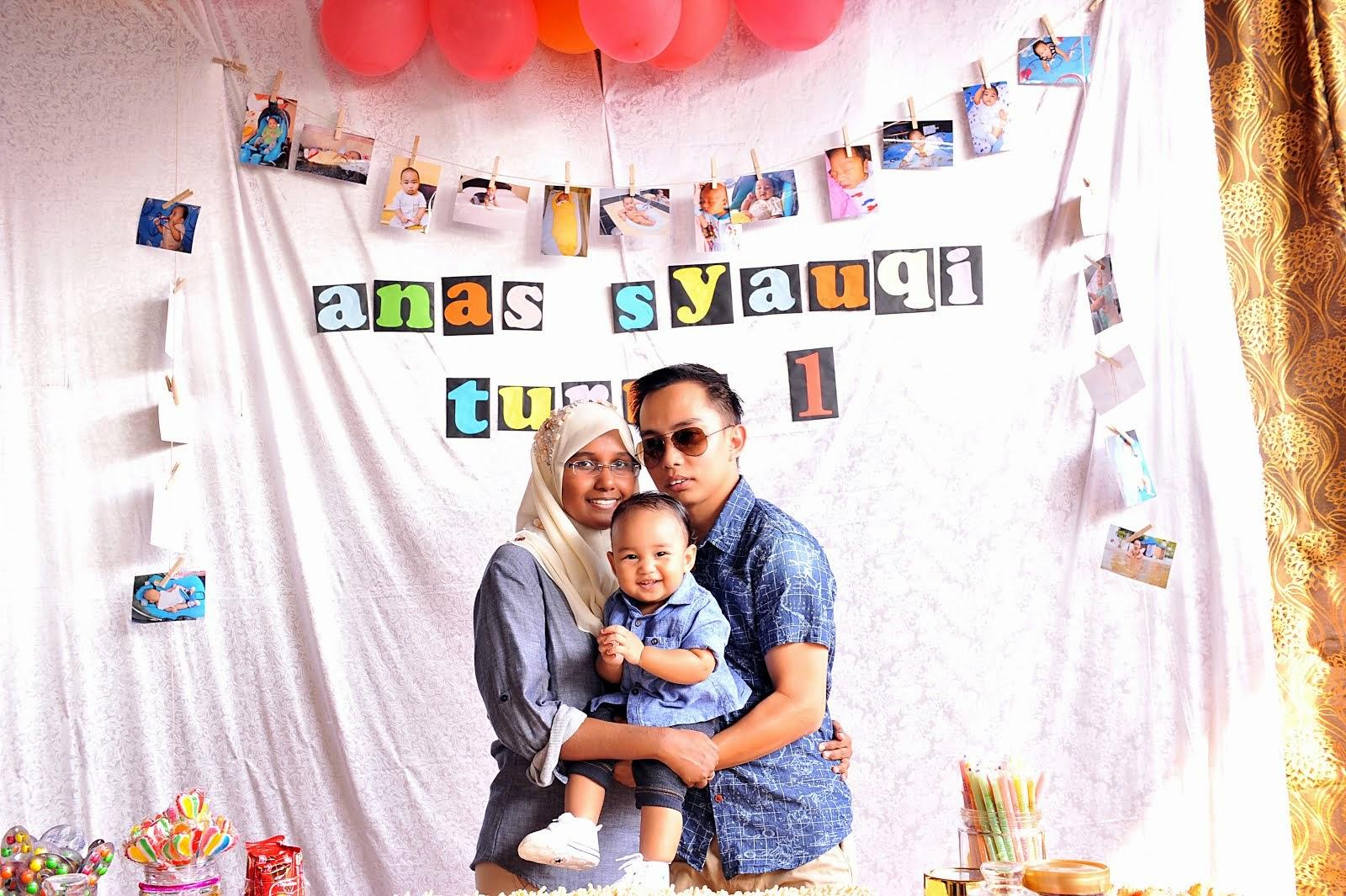 ♥ Anas Syauqi 1st Birthday ♥