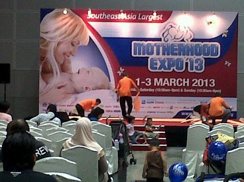 Shopping kat baby expo 2013