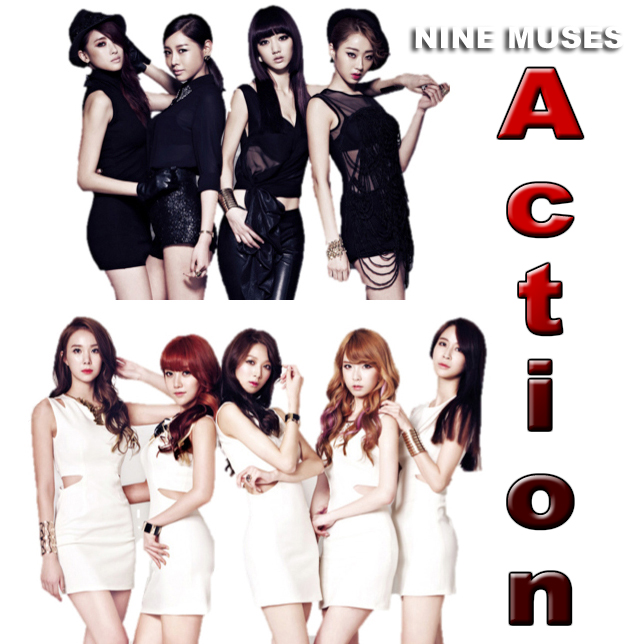 Top Lirik Lagu Asia Indonesia Barat Terbaru Song Lyrics: Nine Muses ...