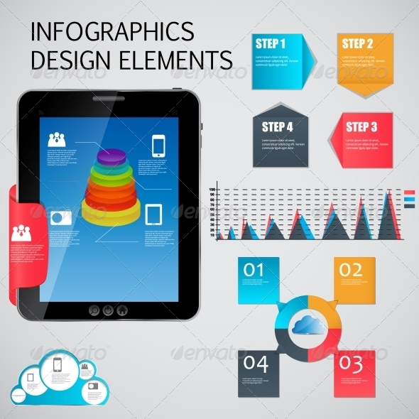 10 Free Design Kits (PSD, AI, and EPS Files) to Create Infographics
