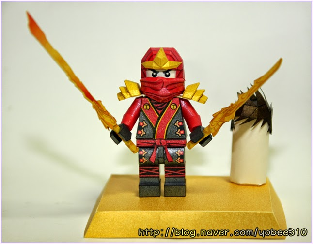 Lego Ninjago Papercraft - KAI