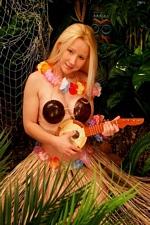 Aloha! Sexy Pattycake Hula Girl