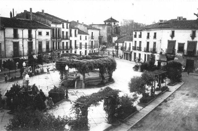 Plaza de la Corredera 1940