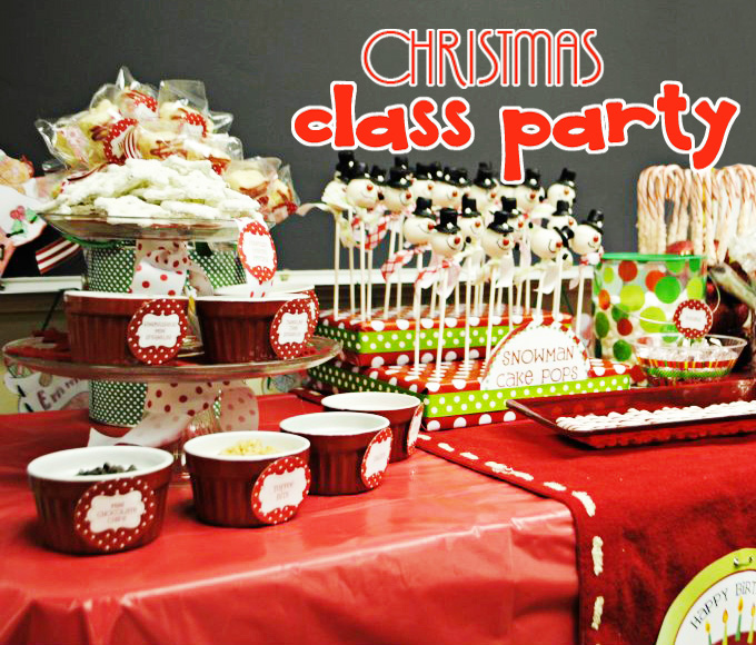 Classroom Event Ideas ~ Amanda s parties to go customer classroom christmas party