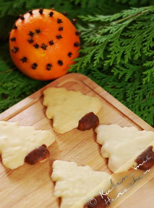 Weihnachtsbäckerei - Orangentännchen