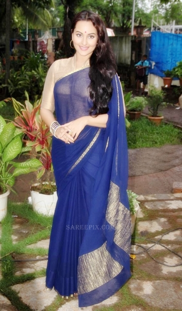 Sonakshi_sinha_saree_Uttaran_serial_sets