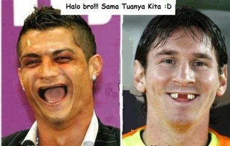 Check It Out !!: Gambar Lucu Real Madrid vs Barcelona