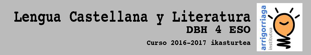 Lengua Castellana y Literatura DBH 4 ESO