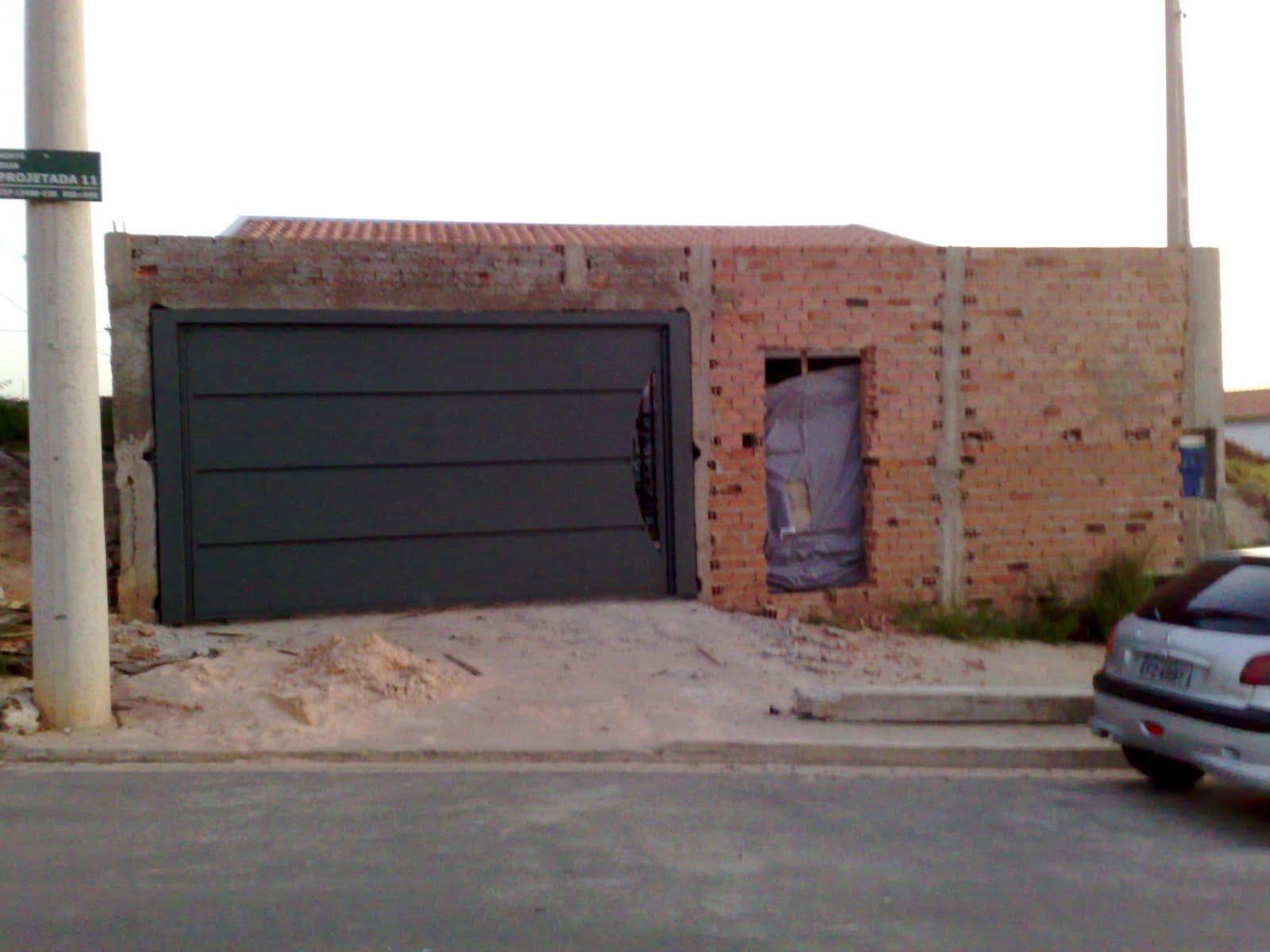 Super Passo a passo da construção da minha primeira casa: O Portão está  WX44