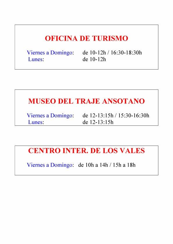 And turismo rural horarios de la oficina de turismo for Horario oficinas caja rural