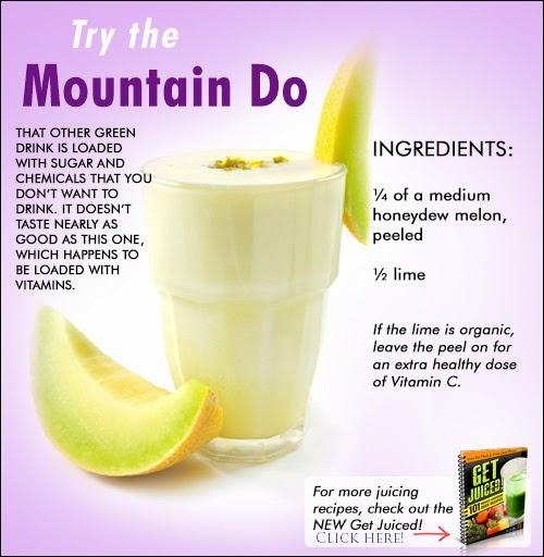 Body-Buildin.com: The Mountain Do -- Healthy Juice Recipe