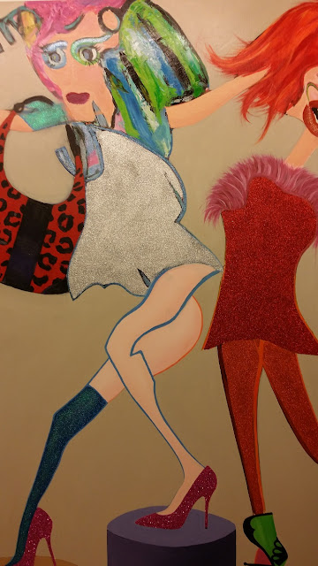 Fabio McNamara, La Fresh Gallery, art, exposición pintura, Ilove, Ochenta, Lifestyle