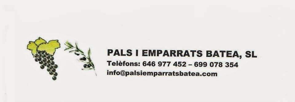 Pals i emparrats Batea SL