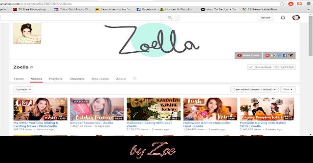 Vloggers, 2015, Zoella