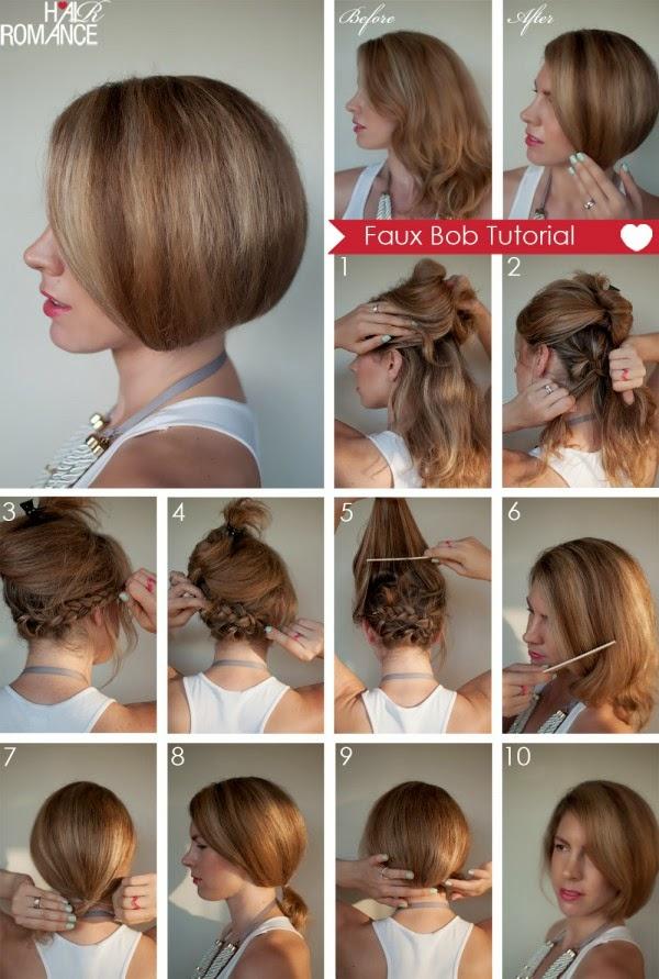Tagli di capelli corti tutorial