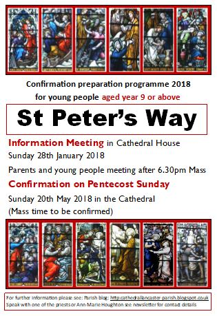 Confirmation Programme