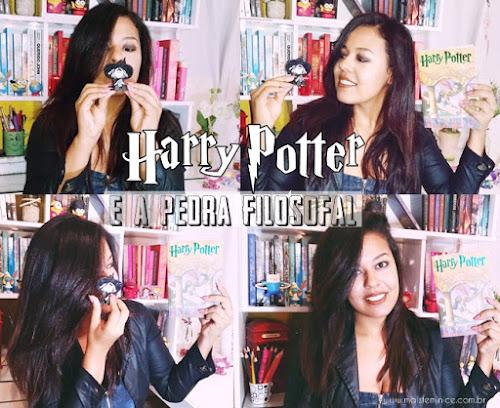 Eu finalmente li Harry Potter e a Pedra Filosofal