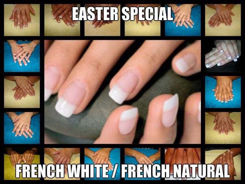 EASTER SPECIAL CANDIDATES FRENCH WHITE / FRENCH NATURAL