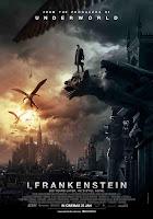 i, frankenstein movie posters