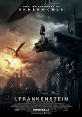 I, Frankenstein movie poster malaysia release starring aaron eckhart