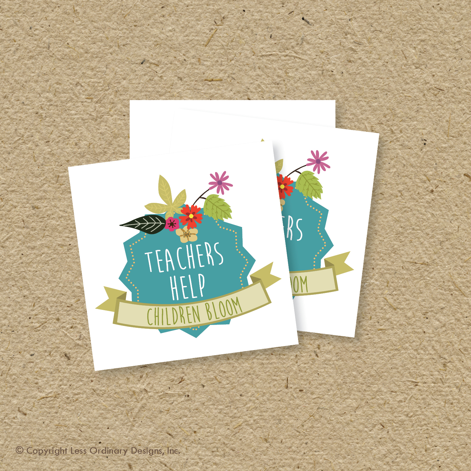 Less ordinary designs free printable teachers appreciate week seed free printable teachers appreciate week seed tags and baby shower favor tags negle Image collections