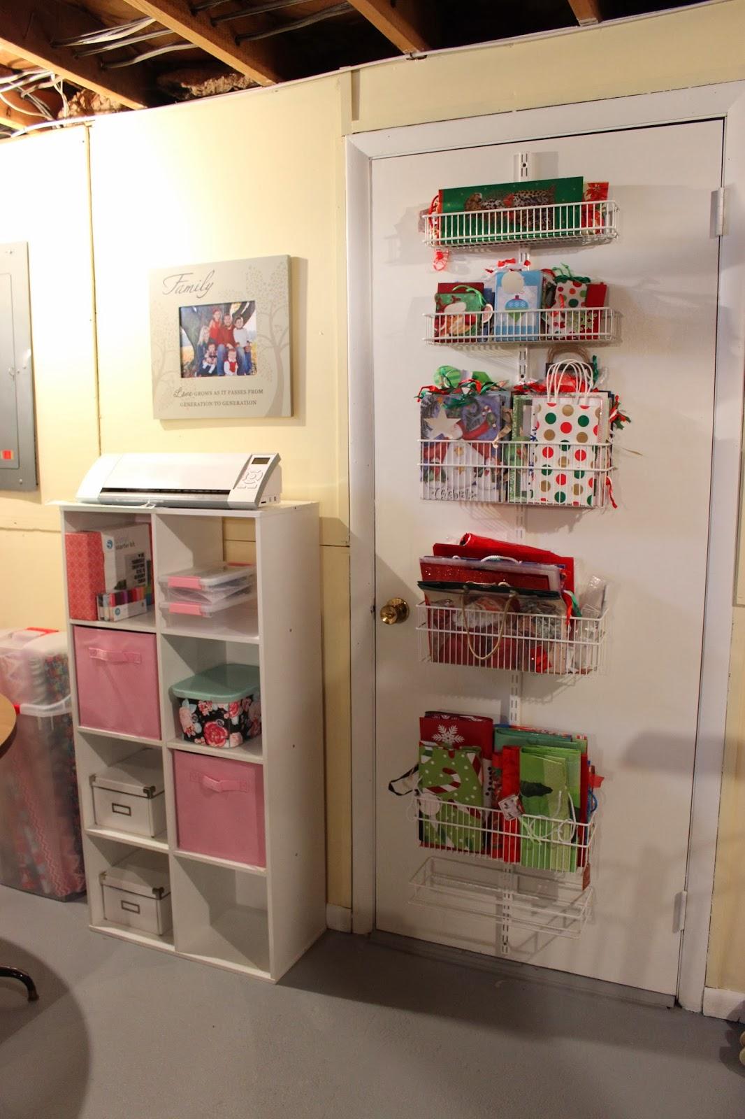 Genial Door Magazine Holder Organizing For Six My Organized Scrap Wrap Room 7