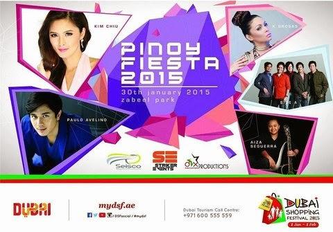 Pinoy Fiesta 2015 - Jan 30 - Zabeel Park