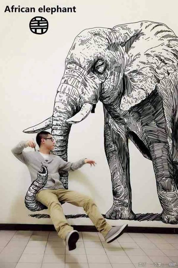 20 Amazing 3d Art Drawings