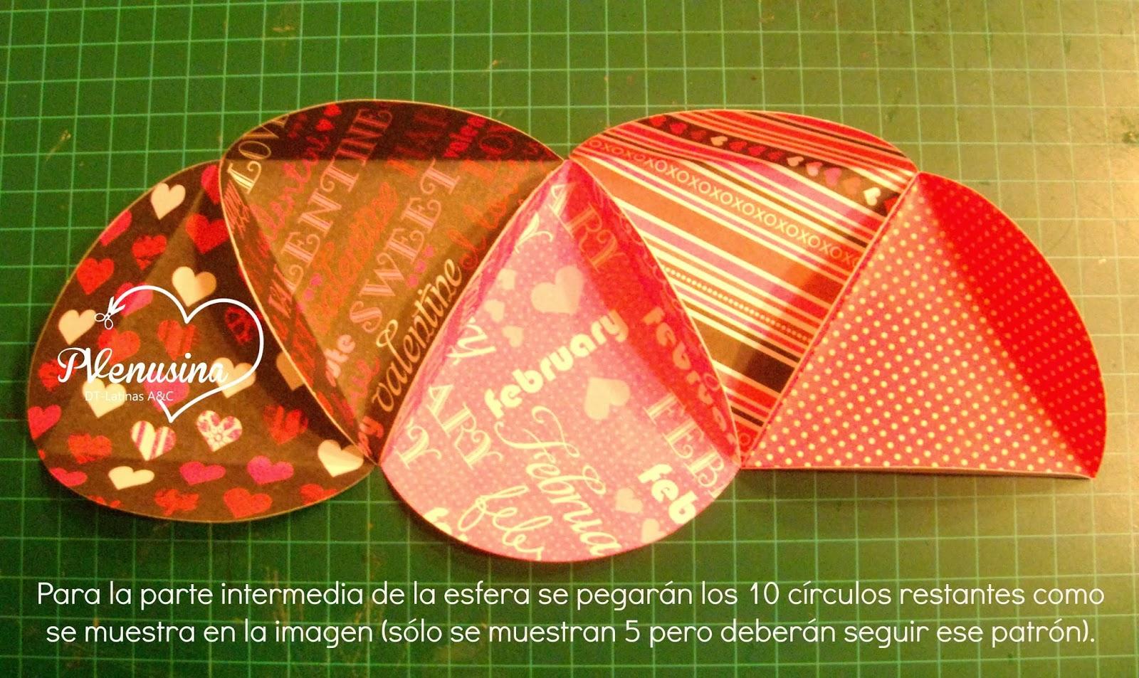 Latinas arts and crafts tutorial 2 esfera de papel - Como hacer una claraboya ...