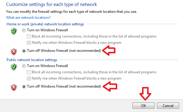 Cara Mematikan Firewall