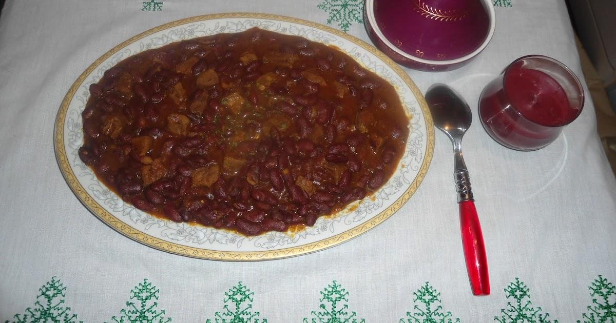 Chaise Cuisine En Solde : Cuisine de Siham Haricot rouge(loubia)