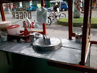 gerobak es doger sederhana