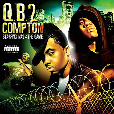 Game & Nas - Q.B. 2 Compton  Cover