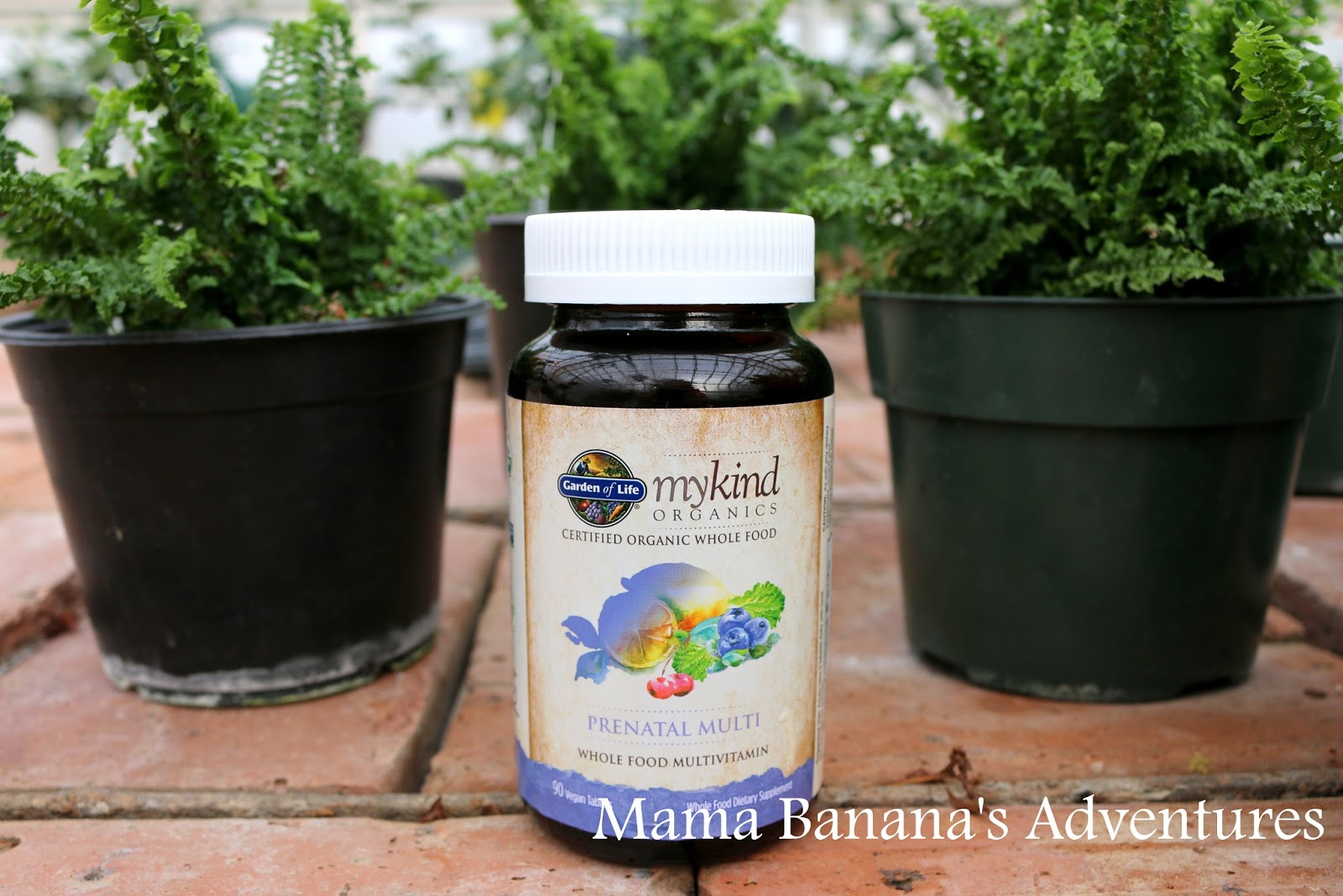 I Like The Garden Of Life Mykind Organics Prenatals Because Wellu2026theyu0027re  Organic! As In Certified USDA Organic, Vegan And Non GMO Project Verified.