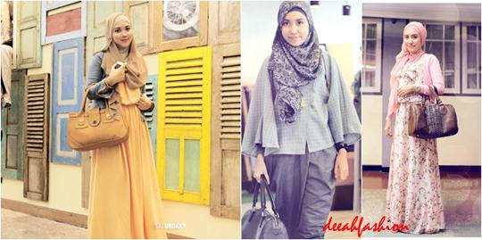 Baju Kerja Muslim Sehari-Hari Daily Moslem Wear