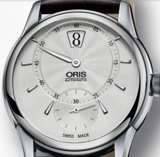 best_watches : Basel 2014: Oris instantaneous jump hour watch