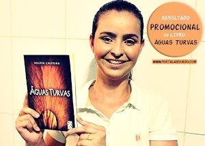 """Resultado atrasado: Confira a vencedora do nosso promocional """"O livro 'Águas Turvas' pode ser seu"""""""