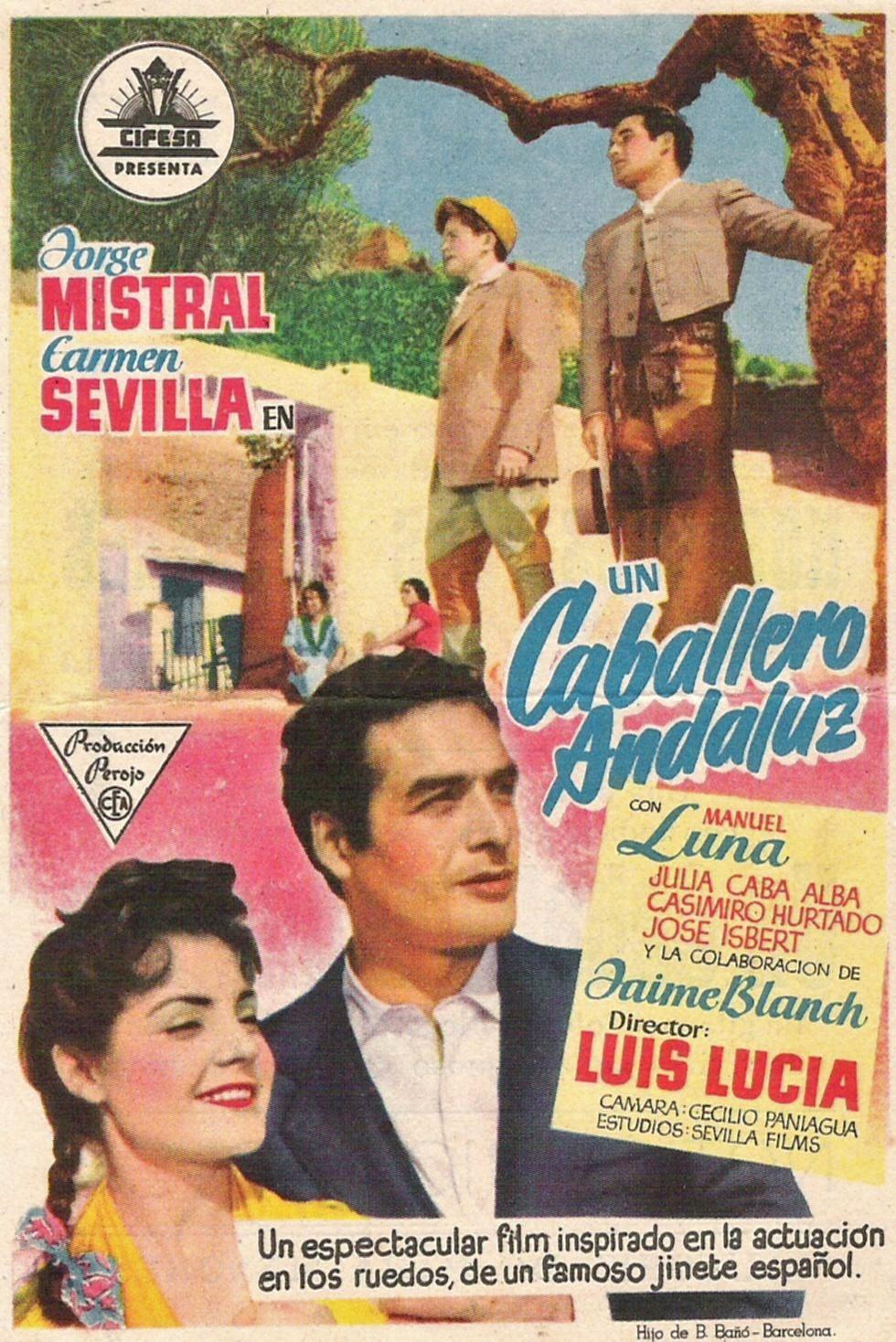 De donde son Ustedes Un+caballero+andaluz