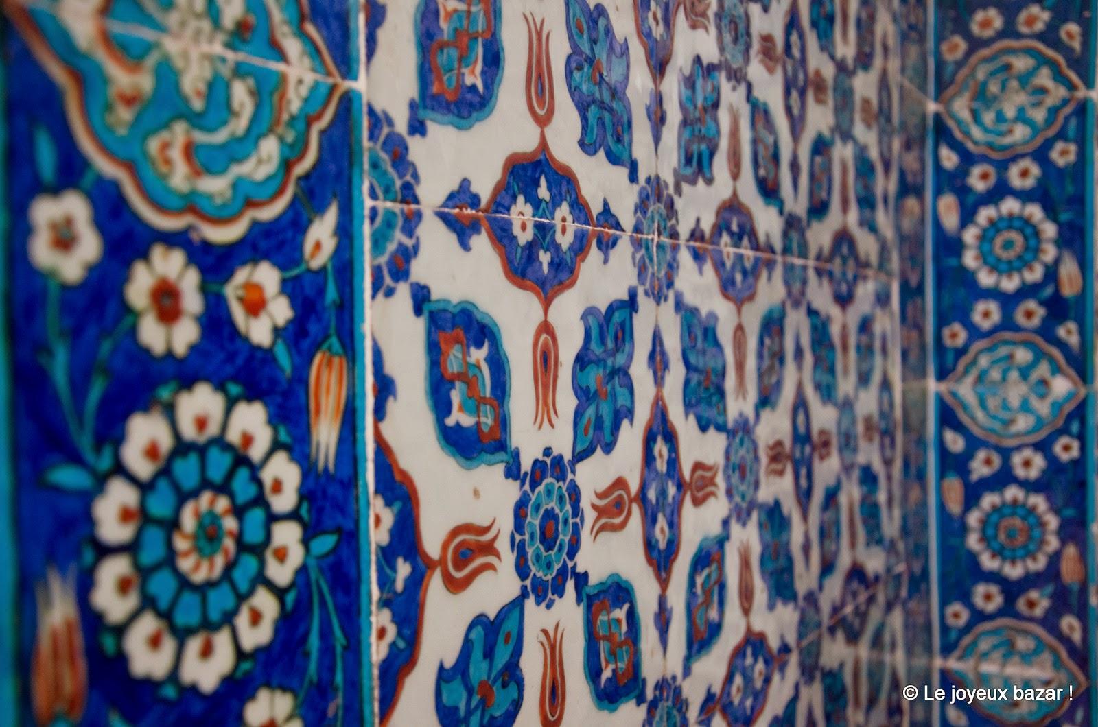 Istanbul  - décors bleus