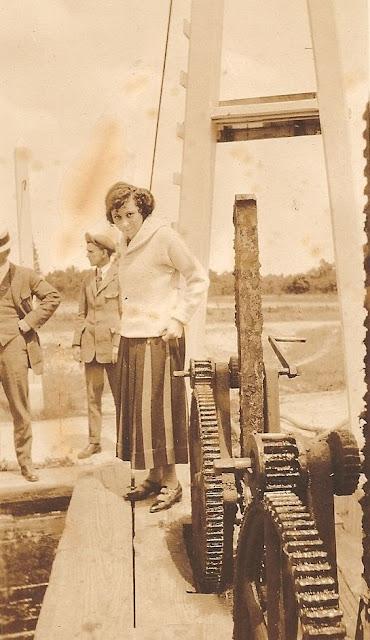 Helen Killeen Parker boat trip about 1919-21