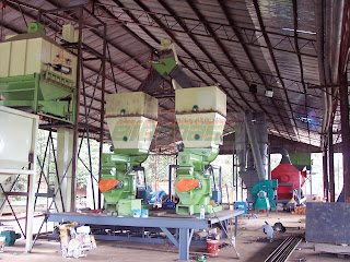 Whole Line Wood Pellet Plant