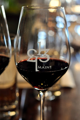 Glass of Red Wine at 1313 Main - Napa, CA | Taste As You Go