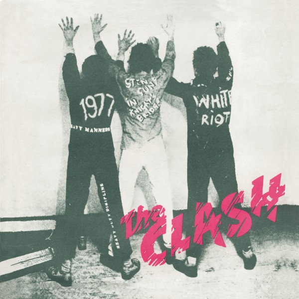 THE CLASH - (1977) White riot (single)