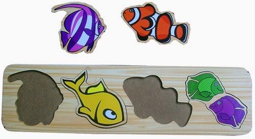 mainan edukasi puzzle ikan